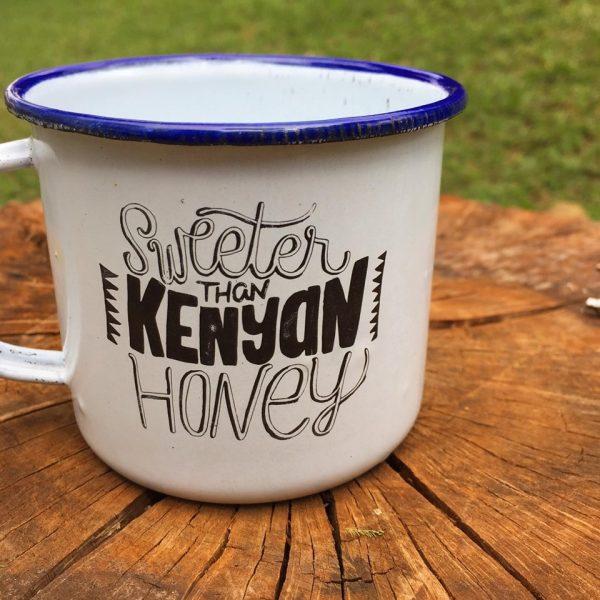 enamel cup made in kenya